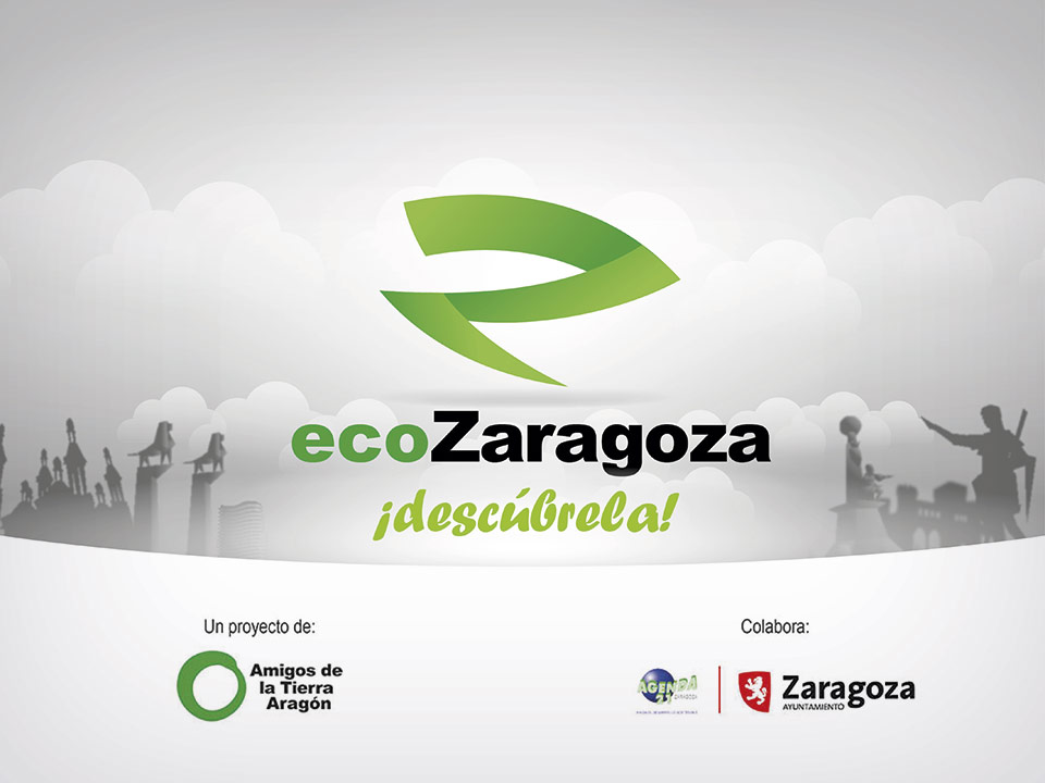 eco Zaragoza diseño de logotipo y aplicación móvil