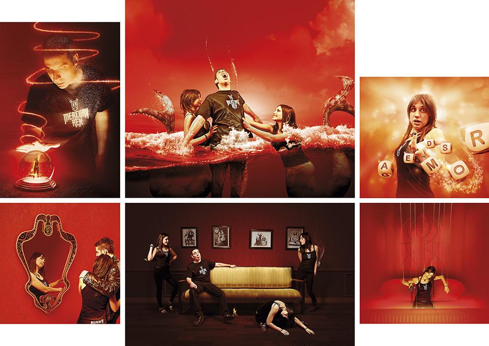 Mercury Rex rock Zaragoza Diseño e ilustraciones para CD