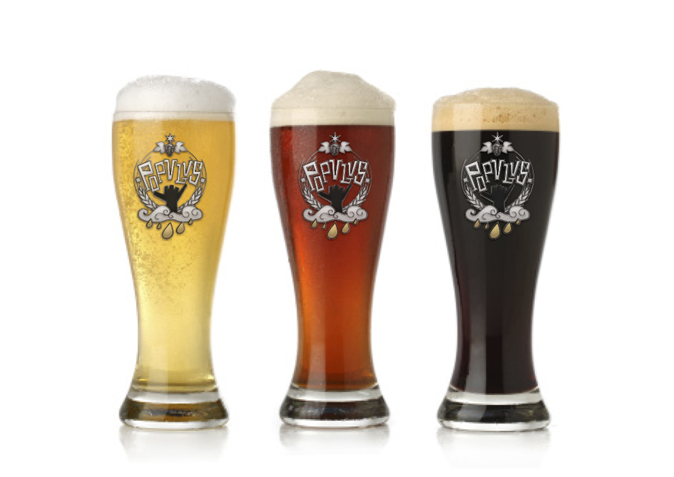 Birragoza, festival de la cerveza artesana de Zaragoza | imagen corporativa cervezas POPULUS