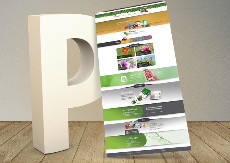 Plantapol diseño web