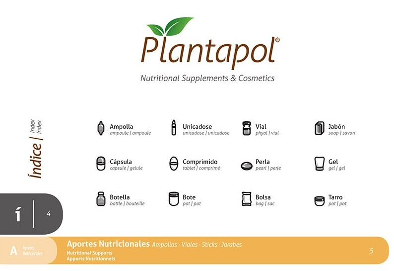 Plantapol diseño de iconografía