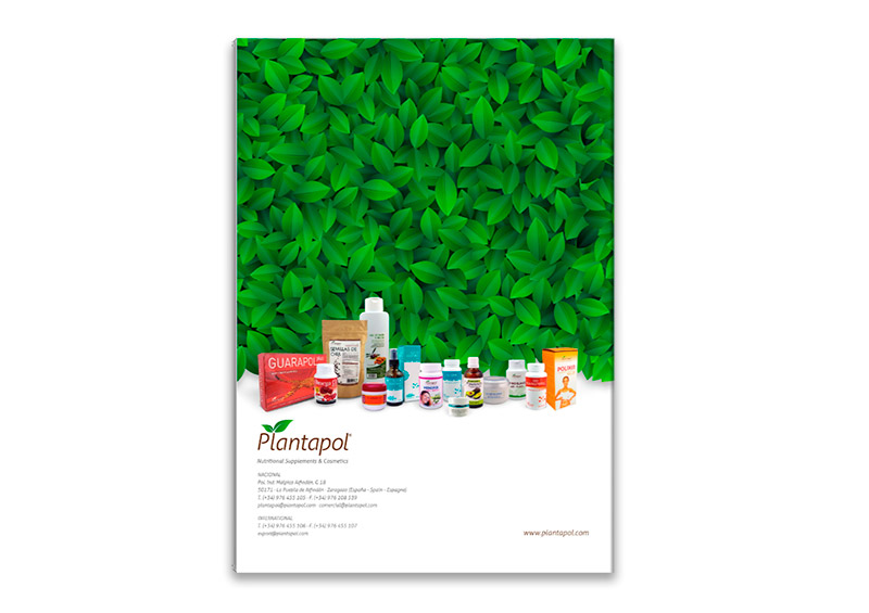 Plantapol diseño de catálogo