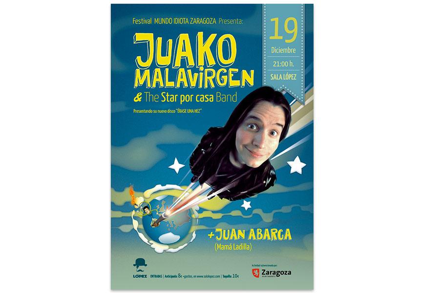 Juako Malavirgen | Cómico monologuista Zaragoza. imagen corporativa