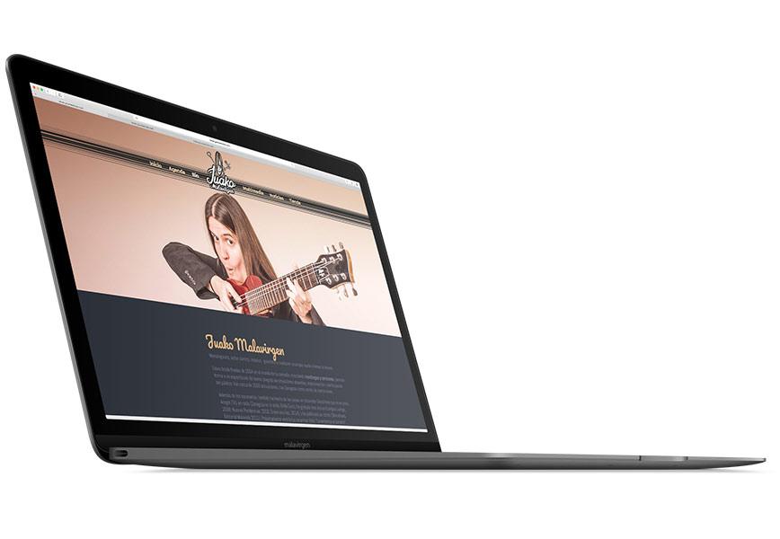 Juako Malavirgen nueva web