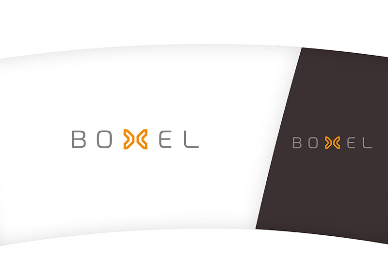 vibrador de hormigón boxel converter | campaña publicitaria | diseño de logo