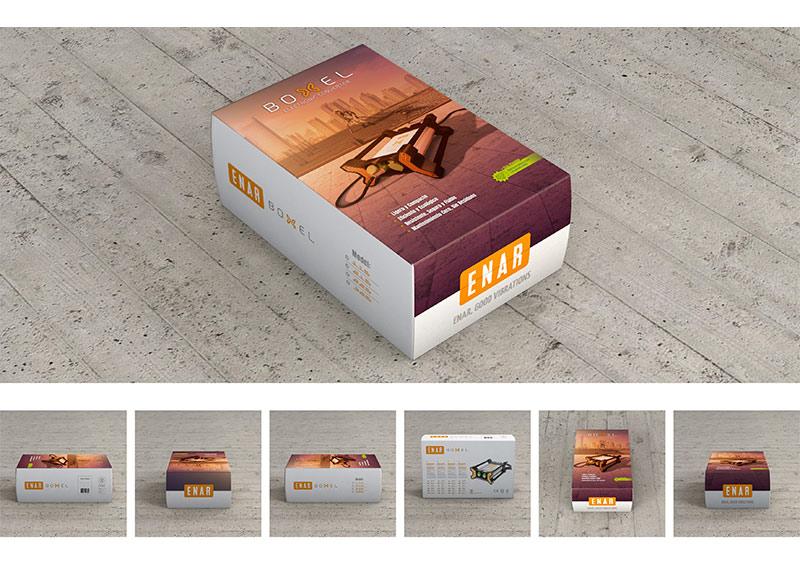 vibrador de hormigón boxel converter | campaña publicitaria | packaging