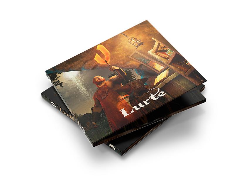 Lurte V | Compañía Almogávar | Zilon diseño digipack